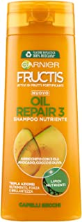 Garnier Fructis Oil Repair 3 Shampoo per Capelli Secchi, 250 ml
