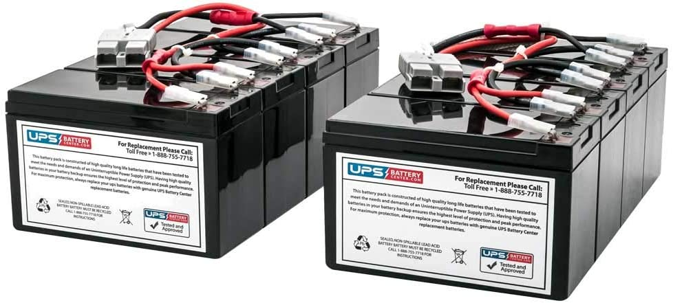 SU2200RM3U Battery Pack - Compatible Replacement for APC Smart-UPS 2200 RM 3U by UPSBatteryCenter