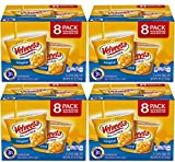 VELVEETA Original Microwavable Shells & Cheese Cups, 8 Count Box | Single Serving Cups with Delicious Velveeta Cheese Sauce, 4 Pack