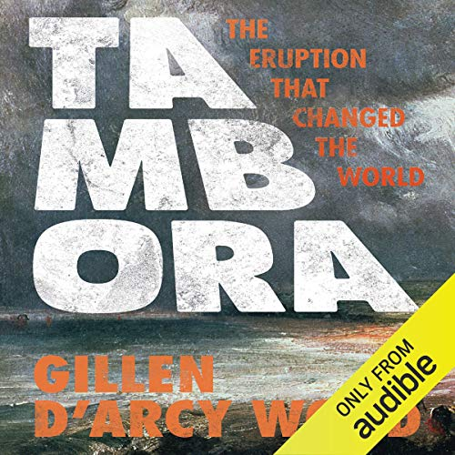 Tambora audiobook cover art