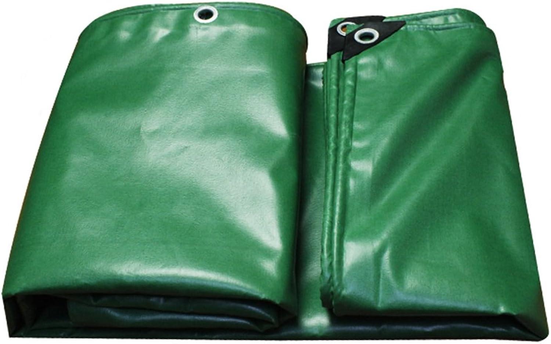 QX pengbu IAIZI IAIZI IAIZI Verdickte PVC-Regenschutz-Plane mit Metallknopfloch -0,44mm-520g   m2-grün Winter-Kälte, Sommer-Farbton B07KZFS5J1  Ruf zuerst 3f79ae
