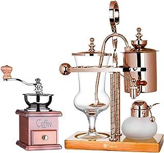 Siphon Cafetière Set Siphon Technia Household Pot Belge Pot Royal, 4 Styles Cafetières sous Vide (Couleur: A1)