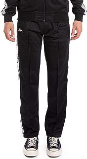 Kappa 222 Banda Astoriazz Pants - Black/Grey Silver/White
