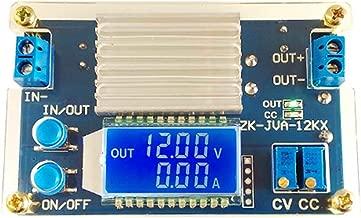 12A DC - DC Adjustable Power Module Voltage Regulator 5.3-32V to 1.2-32V Buck Converter Step Down Power Supply Trandformer Constant Voltage & Current Adjustable Power Volt Stabilizer with Amp volt LED