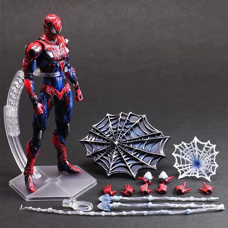 la calidad primero los consumidores primero RLJqwad Juguetes para Niños Estatua Estatua Estatua de los Vengadores Estatua de Marvel Modelo de súperhéroe Spider-Man Modelo móvil Modelo 27 cm Spiderman  aquí tiene la última