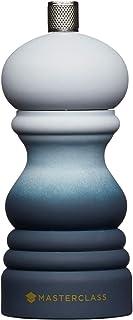 17 cm Molinillo de pimienta o sal con tapa intercambiable MasterClass MCSNPWHT17