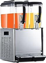 CLING Kommersiell kalldryck dryck dispenser maskin cafeteria varm och kall juicemaskin rostfritt stee is te dryck dispenser