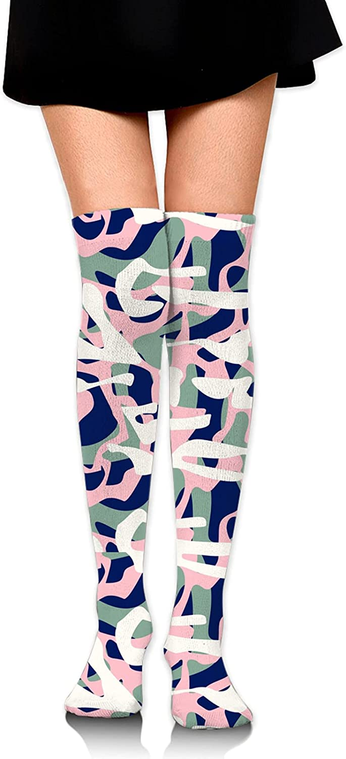 Comfort Knee Compression Sock Credence High Tube Sports Socks Girls W For Tulsa Mall