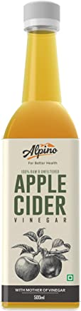 Alpino Apple Cider Vinegar 100% Raw & Unfiltered with Mother 500ml