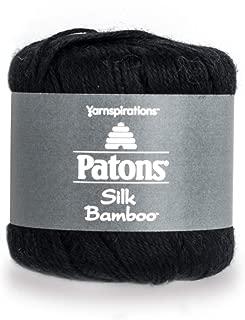 Patons Silk Bamboo, Coal Yarn,