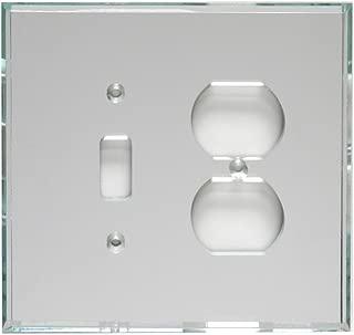 GlassAlike Duplex/Switch Acrylic Mirror Plate