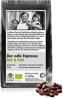 Coffee-Nation BIO & FAIR Der edle Espresso 500g Bohn
