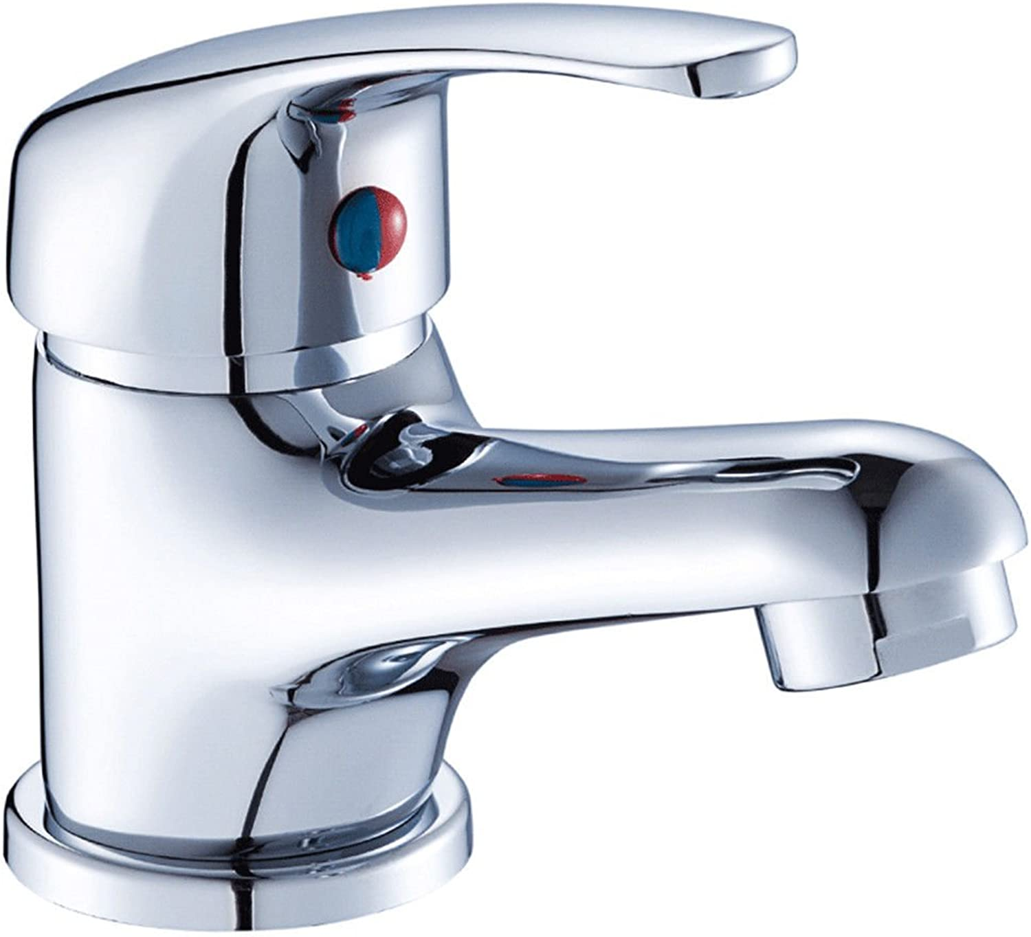 ETERNAL QUALITY Bathroom Sink Basin Tap Brass Mixer Tap Washroom Mixer Faucet Basin mixer single hole and cold water faucets copper bathroom basin Faucet Kitchen Sink Tap