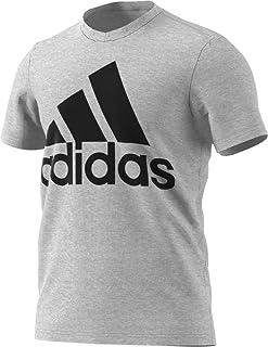 adidas Men's Badge of Sport Graphic Tee, Medium Grey...