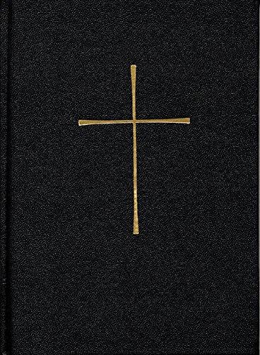 Book Of Common Prayer Personal Economy Edition Black