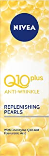 NIVEA Q10 Plus Anti-Wrinkle Replenishing Pearls with Q10 & Creatine for Tired & Dull Skin 40ml