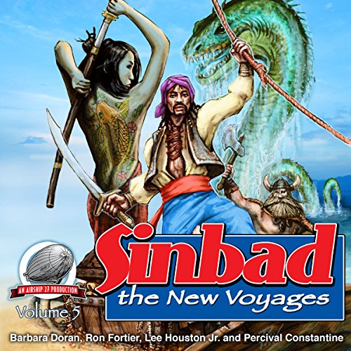 Couverture de Sinbad: The New Voyages, Volume 5