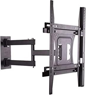 "UNHO Tilt Swivel TV Wall Mount Bracket Full Motion Cantilever Bracket VESA Wall Mount 400x400mm Corner TV Mounts for 26""-5..."