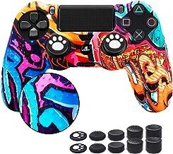 6amlife – Películas de controle para PS4, capas de silicone para DualShock 4 – Conjunto de capa protetora antiderrapante p...