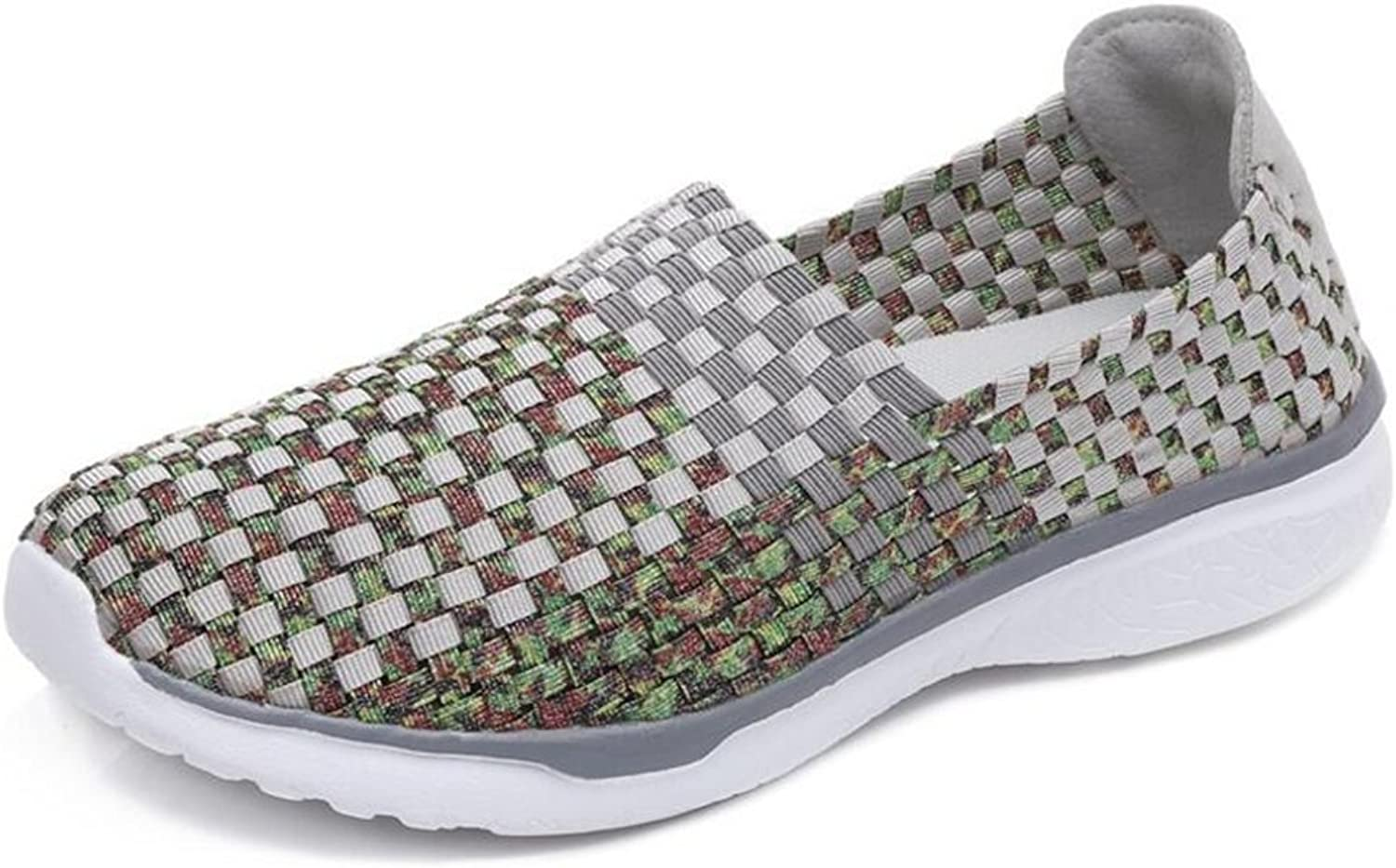 Quality.A Ladies Casual shoes Woven Rocking shoes Running shoes Sneakers Loafers
