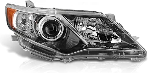 wholesale SHAREWIN Replacement online For Camry 2012 2013 2014 Headlights Headlamp Assembly Black sale Housing Amber Reflector Replacement Passenger Right Side outlet online sale