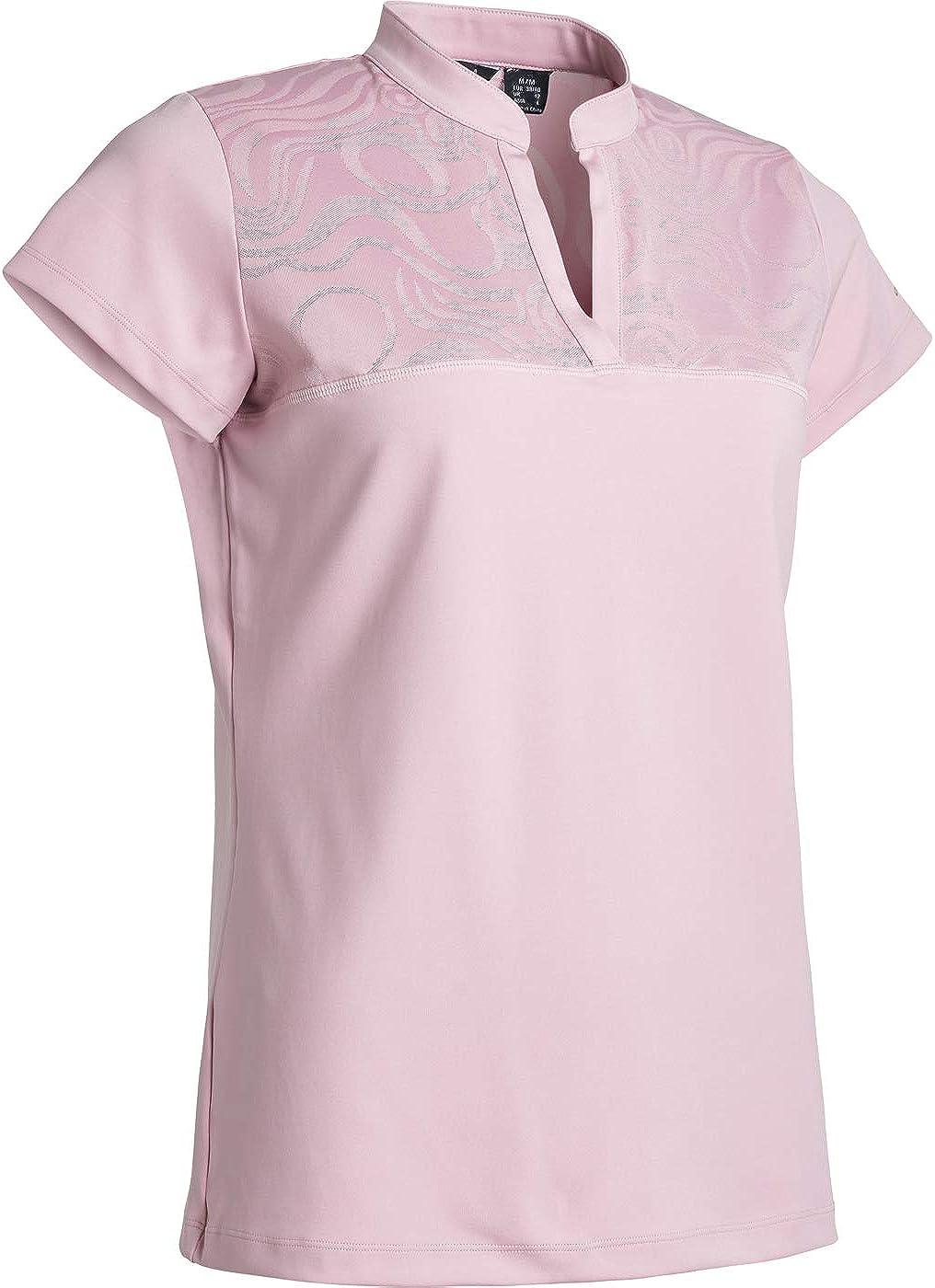 ランキング総合1位 ABACUS Sportswear Women's Golf Polo 贈与 for Women Shirts Shirt