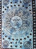 GESCHENKE Mango Sun N Moon lila Wandteppich, Wandbehang, Tischdecke, Krawatte sterben Handmade Bed Sheet Geschenk Art 208,3x 137,2cm Zoll von