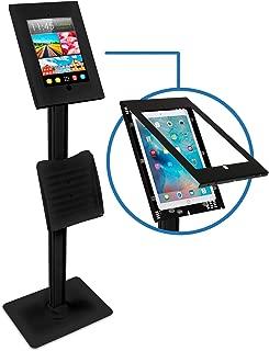 Mount-It! Anti-Theft iPad Floor Stand for iPad Pro 12.9 | Secure Portable Floor Stand iPad Pro Kiosk for 1st / 2nd Gen iPad Pro 12.9 (MI-3770B-XL)
