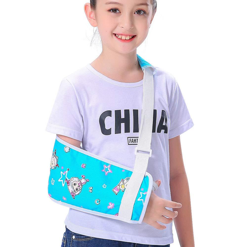 Max 76% OFF Kids Arm Sling for boys Girls Blue Goat excellence Shoulder Little Pleasant