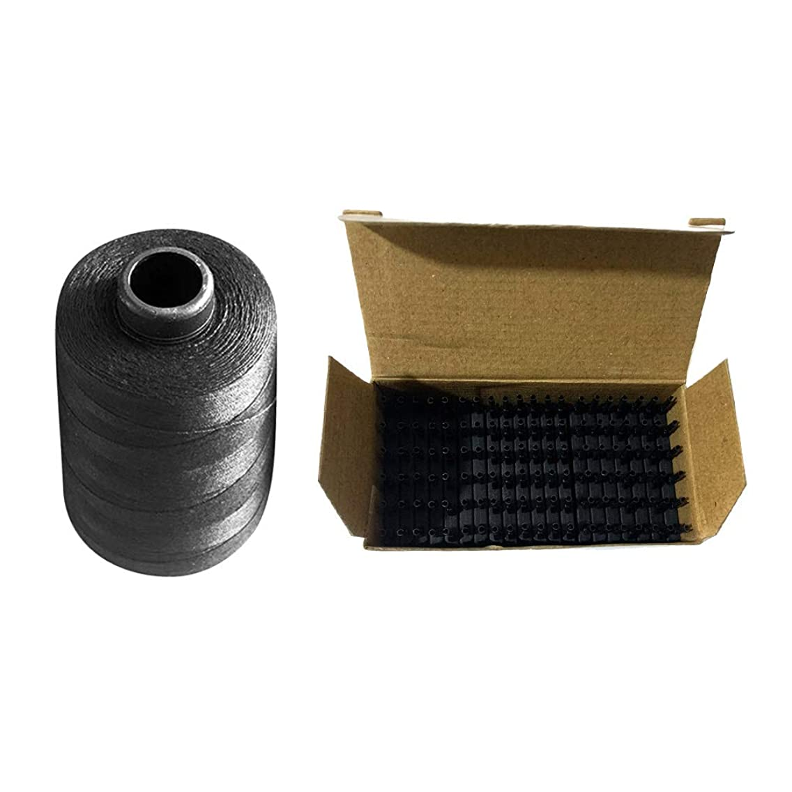 警戒スケジュールプレビューSM SunniMix ナイロン 編む糸 かつらスレッド ヘアエクステンション かつらクリップ