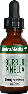 NutraMedix Burbur-Pinella Detox Drops - Liquid Herbal Drops for Detox, Cleansing & Cognitive Support - Bioavailable Herbal...