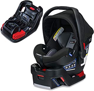 Britax B-Safe Ultra Infant Car Seat, Noir with Extra Base Bundle