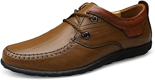 LYZGF Hommes Gentleman Affaires Occasionnels D'age Moyen Moyen Mariage Laçage Chaussures en Cuir  commander maintenant les prix les plus bas