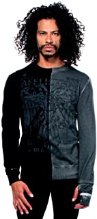 Affliction Men's Shadow Effects Thermal Shirts