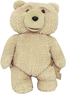 Ted 16-Inch Rated R Talking Plush Teddy Bear Backpack