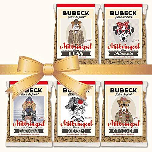 seit 1893 Bubeck Hundeleckerli glutenfrei | mit Lamm & Kartoffel | 5 x 210g | ohne Zucker & ohne Konservierungsstoffe