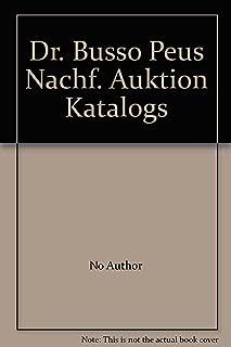 Dr. Busso Peus Nachf. Auktion Katalogs