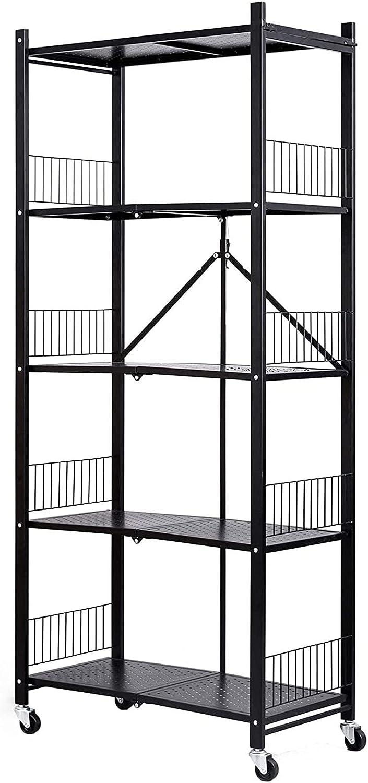 Wizard + Genius Multi-Layer Small Folding Price reduction Storage Sto Shelf Rack wholesale