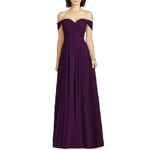 Eggplant Bridesmaids Dress Amazon Com