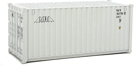 Walthers SceneMaster HO Scale Model of Gateway (Gray) 20' Corrugated Container
