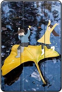 Sepikey iPad Air 1/iPad Air カバー,PUレザー 耐落下性 三つ折 キズ防止 アンチダスト 三段角度調節 タブレットケース iPad Air 1/iPad Air Case-秋 12