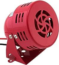 Vixen Horns Loud Electric Motor Driven Horn/Alarm/Siren (Air Raid) Small/Compact Red 12V VXS-9050C
