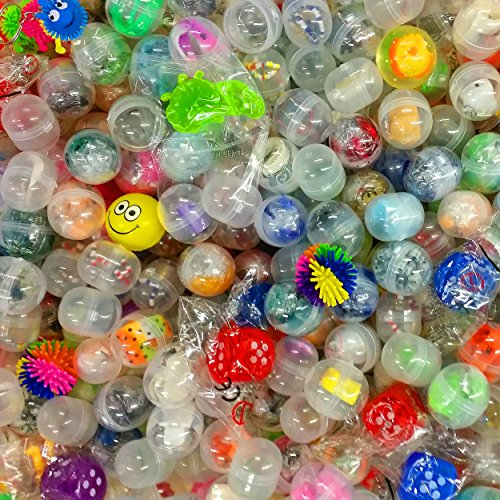 German Trendseller® - 48 x Gefüllte Spielzeug - Kapseln ┃ 48 x Spielzeug ┃ Mitgebsel ┃ Der Hit auf jedem Kindergeburtstag