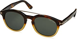 Sunglasses Tom Ford NEWMAN TF 515 FT 56N havana/other / green