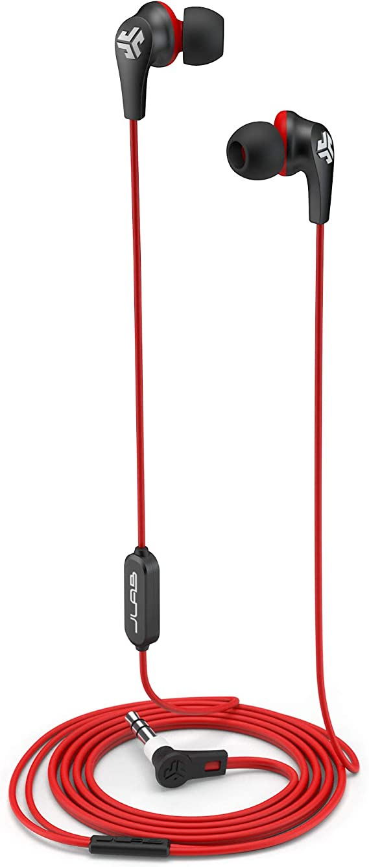 Jlab Jbuds Pro Wired Earbuds Black Red Elektronik