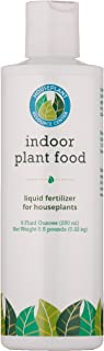 Indoor Plant Food by Houseplant Resource Center. All-purpose fertilizer for houseplants. 8 liquid ounces. Great for your succulent, orchid, African violets, cactus and more!