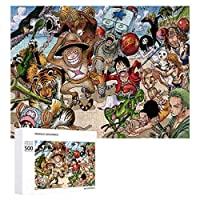 ONE PIECE ジグソーパズル 1000ピース diy 絵画 学生 子供 大人 Jigsaw Puzzle 木製パズル 溢れる想い おもちゃ 幼児 アニメ 漫画 壁飾り 入園祝い 新年 ギフト 誕生日 クリスマス プレゼント 贈り物