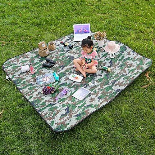 Manta de Picnic, Manta de Camping Plegable, Resistente al Agua y a la Arena, Manta de Playa para Camping, Jardín, Parque,P5,200 * 200cm