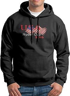 成人 トレーニング 2016アメリカ ゴルフ ライダーカップ パーカー 体に合う Black