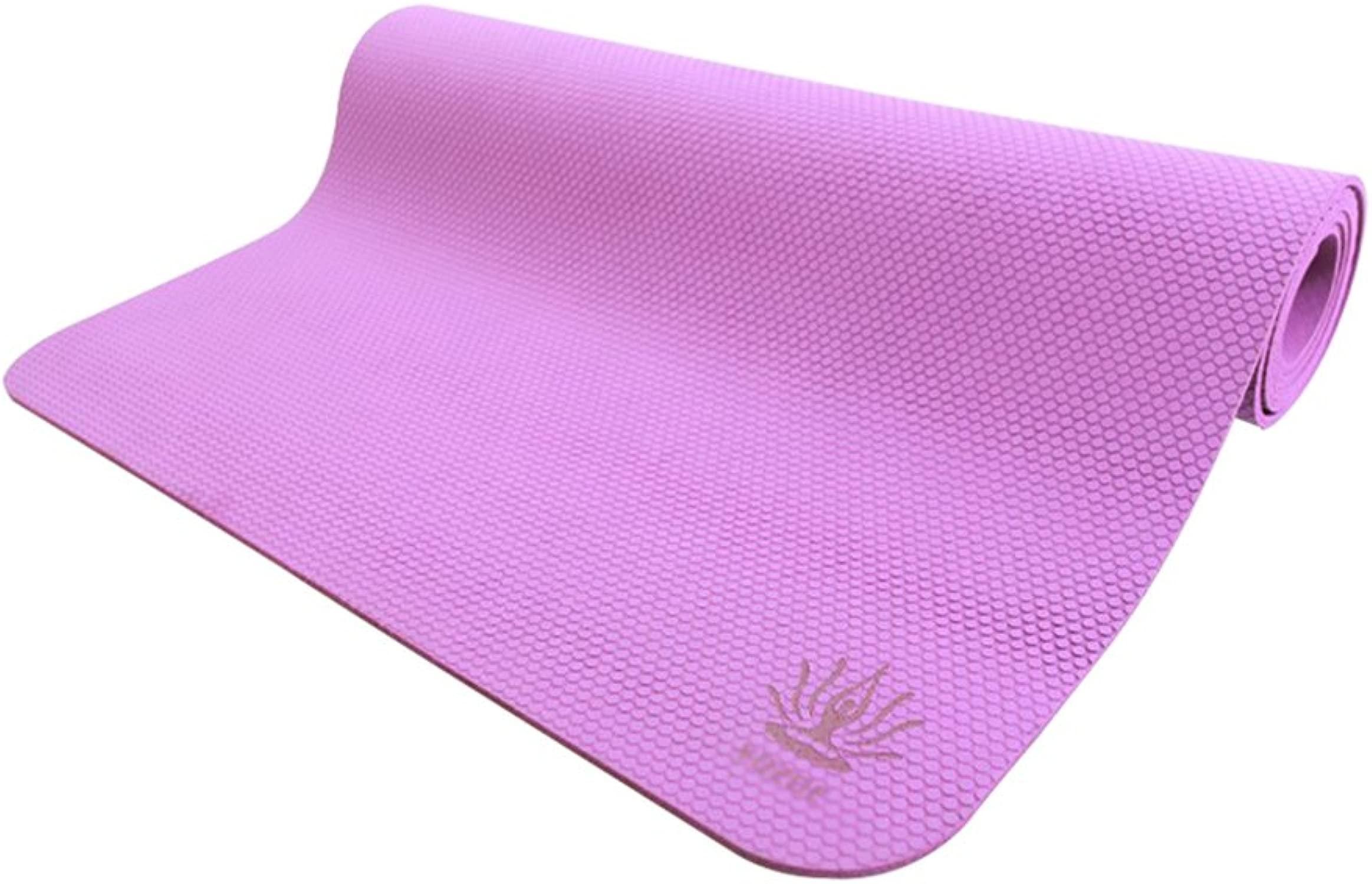 GXY Yogamatte , rutschfeste Dicke Auflage Pilates , 4 Farben 4MM faltbar